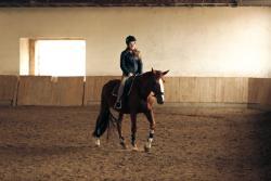 arena horse riding